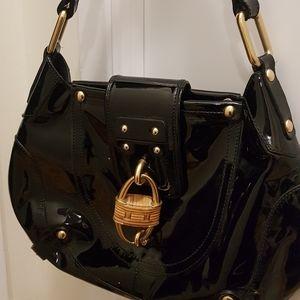Ferragamo Patent Leather Handbag